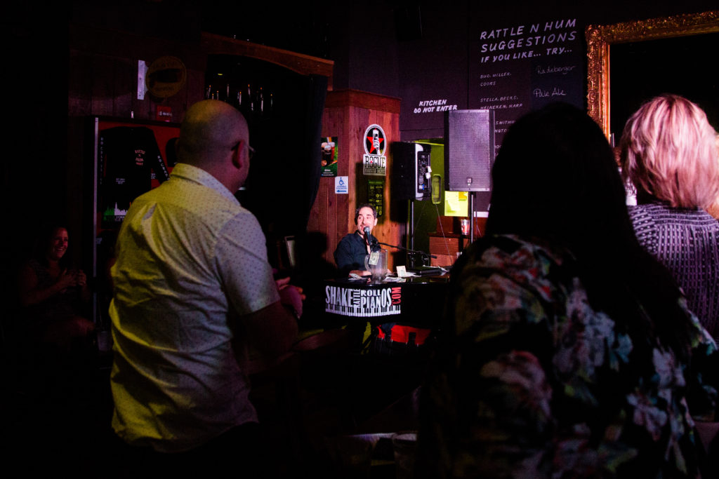Mark Weiser | Shake Rattle & Roll Dueling Pianos NYC | The
