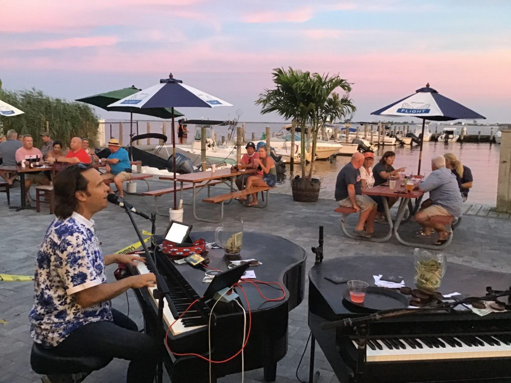 Dueling Pianos bar show on Long Island Summer entertainment 2020